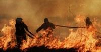 Как вести себя при  пожаре