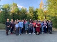Плановая практическая тренировка по пожарной безопасности в Металлургическом УСЗН Администрации города Челябинска